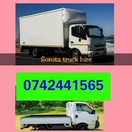Removal services bakkie and truck for HIRE