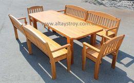 Столы, стулья, скамейки, садовая мебель