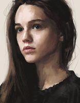 Портрет по фото на холсті чи папері, фарбами та олівцями