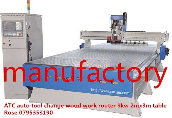 Auto tool change wood work router 0