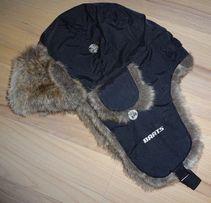 nowa BARTS 9154 męska zimowa czapka uszatka pilotka z futerkiem OKAZJA
