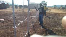 Fences installation and steel works