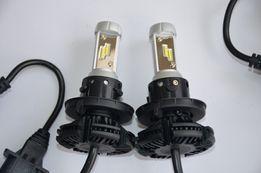 LED лампы на Nissan Leaf H13,H11, H4 в головной свет и противотуманки