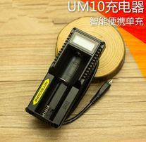 ОРИГИНАЛ зарядное на 1 Nitecore UM10 с ЖК экраном Li-Ion 18650 зарядка