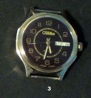 Мужские механические часы времён СССР(позолота)