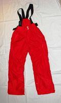 Зимние непромокаемые штаны, лыжные, на подтяжках р. 114-121