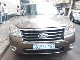 2009 Ford Everest 3L manual 4X4