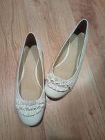 Baleriny buty damskie 40 skóra jak nowe