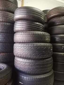 Am selling used tyres at Rayan tyres and mags nice second hands