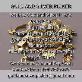 Gold and Silver wanted!!