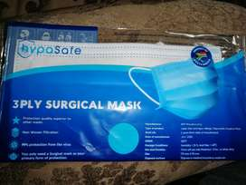 Sterile surgical face mask