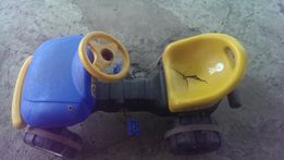 Большая детская машина с педалями