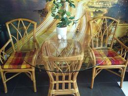 Meble ogrodowe stół +4krzesła