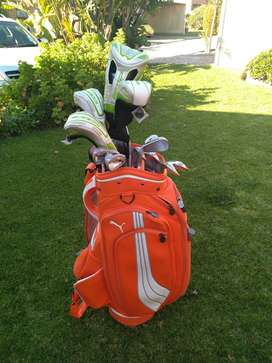 BRAND NEW LADIES GOLF BAG AND CLUBS
