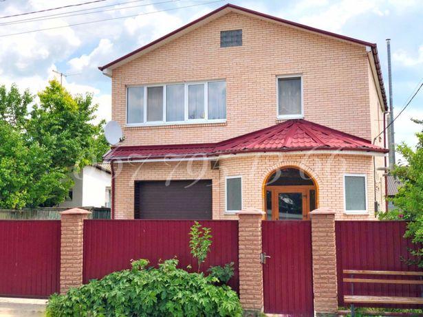 ЦЕНТР!!! КИРПИЧНЫЙ дом 160 м2 с ГАРАЖОМ и МЕБЕЛЬЮ на 8,5 сотках земли Борисполь - изображение 1