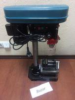 Станок сверлильный EURO CRAFT DP201 с тисками 1500 Вт Гарантия!