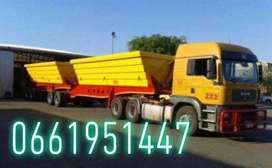SIDE TIPPER TRUCKS 34 TON AVAILABLE FOR HIRE ON A MONTHLY BASIS…