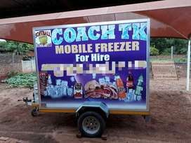 Mobile freezer for sale