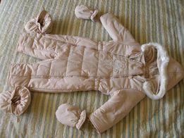 Детский утепленный комбинезон BAMBINI 80 см.