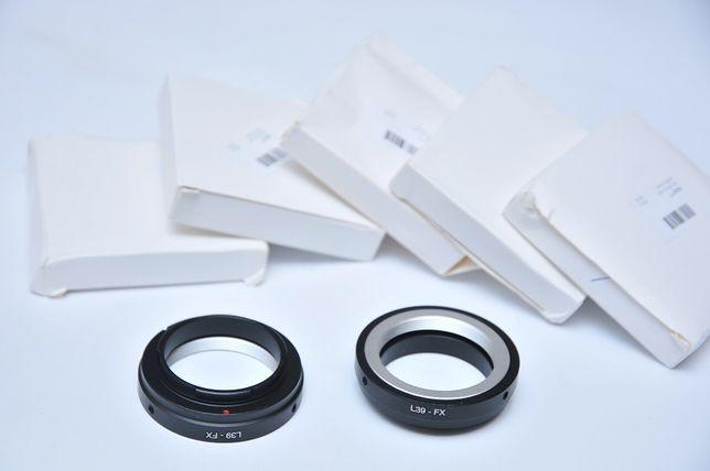 L39-FX Адаптер Leica Fujifilm Fuji X-Pro1 X-E1 X-E2 X-M2 X-M m39 FX Днепр - изображение 1