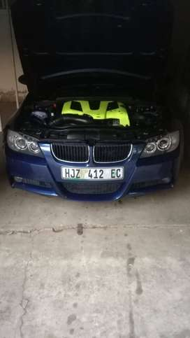 Bmw 320d V8 conversion