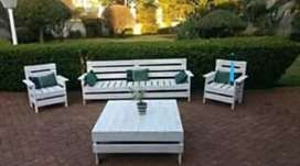 Patio Furniture. Benches and Garden sets
