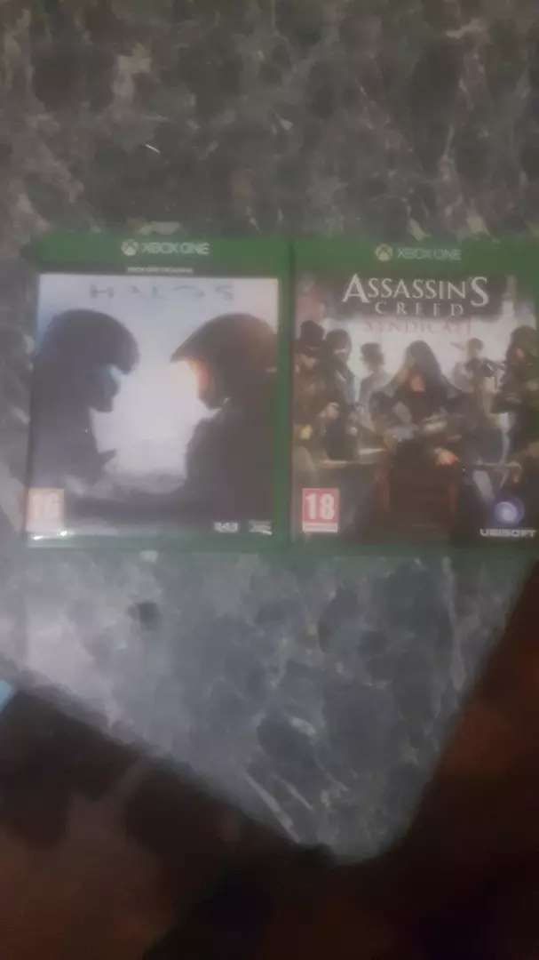 Xbox one games assasin creed nd halo5 0