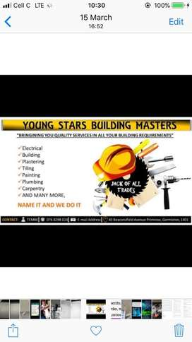 Youngstars building masters
