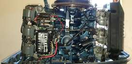 90hp 2 stroke yamaha boat motor with trim and tilt control