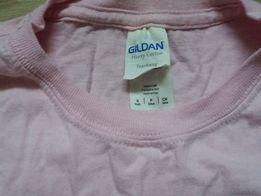 Różowa koszulka z krótkim rękawem z koniem