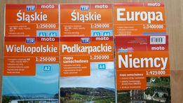 Mapy turystyczne - DEMART