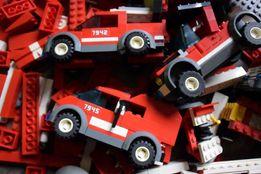 LEGO CITY Straż Pożarna Wóz Strażacki Helikopter Płytka Budowlana Łodź
