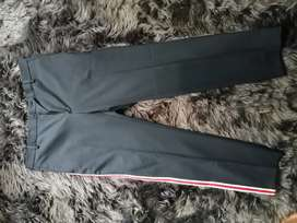 CK 205w39nyc - side stripe tailored trousers