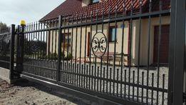 Ogrodzenia brama przesuwna wzór gajków Wrocław Producent