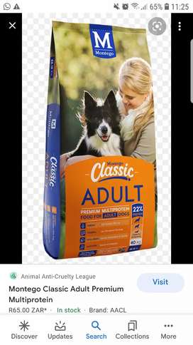montego dog food all types puppies and adults