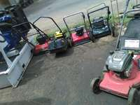 Image of Selling lawn mowers