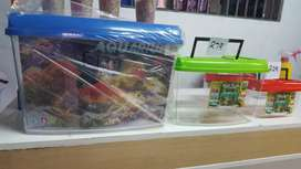 Aquarium fish tanks and other pet boxes