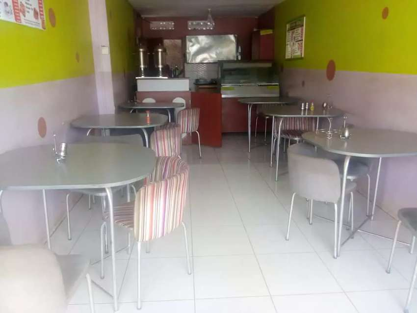 Restaurant and take away for sale in kireka town on goodwill 0