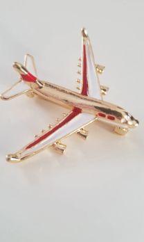 подарок мужчине самолет брошь брошка модель авиалайнера новый значок Днепр - изображение 1