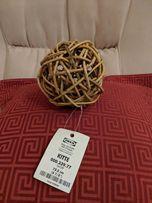 Декоративный шарик из лозы IKEA KITTE 000.339.77 диаметр 12,5 см