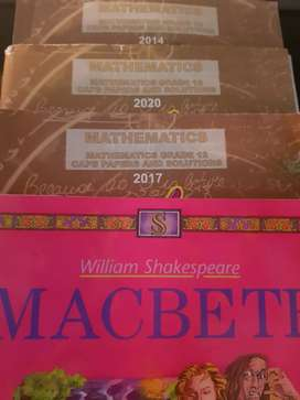 Maths papers and answers CAPS, Active Shakespear - Macbeth