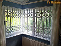 Раздвижные решетки на двери и окна
