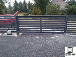 Ogrodzenia nowoczesne brama płoty palisadowe ogrodzenie
