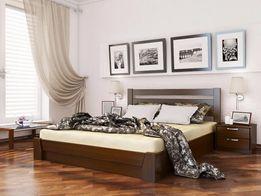 Деревянная кровать с подъемным механизмом Селена Эстелла