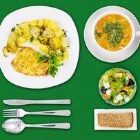 Обід, бізнес ланч, комплексні обіди, доставка обідів, доставка