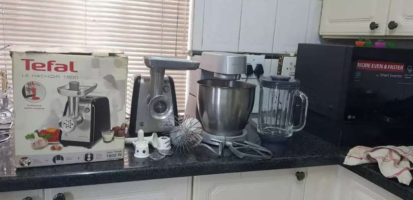 Kenwood mixer and Tefal mincer 0
