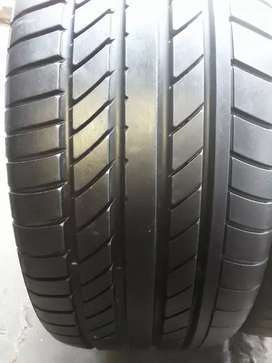 2×255/40/18 and 225/40/18 Continental tyres normal for sale