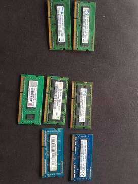 Selling ddr3 ram for laptop