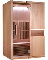 Sauna Tromso Infra podczerwień panel węglowy Infrared cellulit 2 osob.