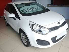 2013 KIA RIO 1.2 5DR WITH ONLY 70500KMS, CALL BIBI